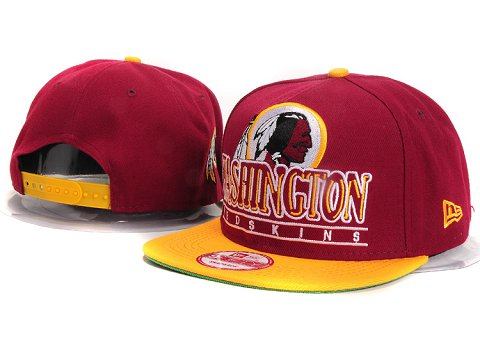 Washington Redskins NFL Snapback Hat YX284